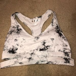 Marble sports bra forever 21